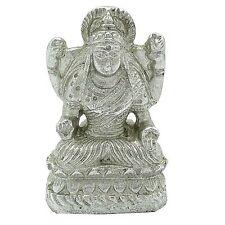 Goddess Laxmi Car Dashboard Silver Decorative Statue Table Dacor Silver Cd588A