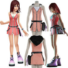 NEW exclusive Anime COS Kingdom Hearts Kairi Cosplay Costume Halloween Customize