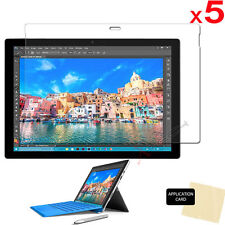5x CLEAR LCD Screen Protector Guard Covers Guards for Microsoft Surface Pro 4