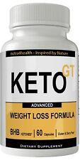 Keto GT Natural Ketogenic Weight Loss Pills, BHB Burn Fat Supplement, 800 mg ...