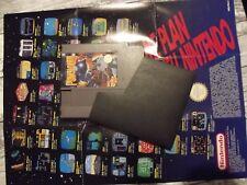 Punch out Nintendo Nes fra version française + poster game plan