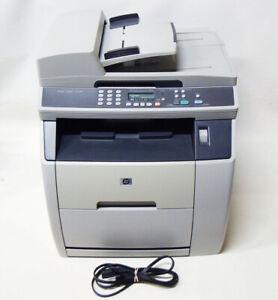 HP LaserJet 2820 Color Laser Copier Scanner Printer w/Toners & AC Cable Bundle