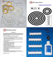 1983 Zaccaria Pinball Champ Pinball Machine Tune-up Kit - Includes Rubber Rings!