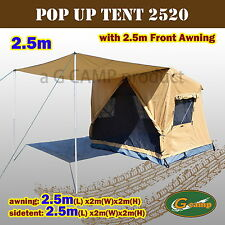 G CAMP 2.5M SIDE TENT FRONT AWNING POP UP ROOF CAMPER TRAILER 4WD 4X4 CAMPING
