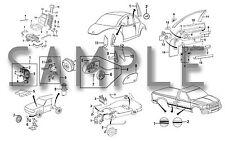 JAGUAR X-TYPE 2002-2008  PARTS LIST MODEL YEAR SPECIFIC PARTS CATALOG