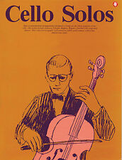 Cello Solos favourite series no.40 Sheet Music Book NEW