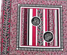 Chrysanthemum Cushion Panel No.4 Cerise Pink  57 x 45 cm100% Cotton