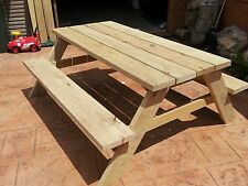 Picnic table timber treated pine