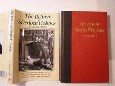The Return of Sherlock Holmes, A Conan Doyle, DJ, Platinum Press, 1996