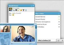 video audio chat for facebook clone site instant messenger social network webcam