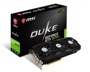 MSI Gaming GeForce GTX 1070 Ti DUKE GDDR5 8GB TriFrozr 256-bit HDCP VR Ready GPU