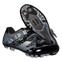 Men Women Mountain Bike MTB Cycling Shoe Compatible with SPD Cleats Gray