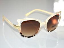Gafas de sol mujer beige leopardo manchado lentes marrones óculos de sol G12
