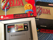 Super NINTENDO SNES ZELDA a Link to the Past inkl. roter OVP + Anleitung Boxed