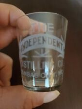 Pre Prohibition Pre Pro Whiskey Shot Glass The Independent Whiskey!