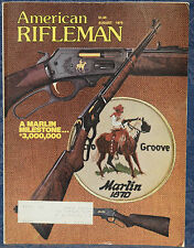 Magazine American Rifleman, AUGUST 1979 !! MARLIN Model 336 RIFLE- #3,000,000 !!