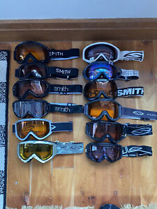 Lot Of 12 Smith Ski Snowboard Goggles Package