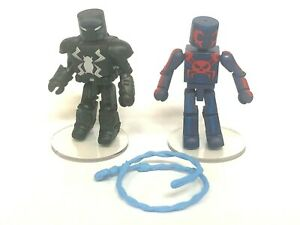 Marvel Minimates Ultimate Spider-Man 2099 & Agent Venom Walgreens Exclusive Open