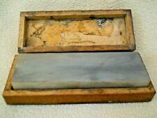 Vintage Ultra Fine Sharpening Stone in Box