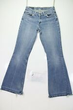 Levis 544 Flare Bootcut Cod. J883 Tg42 W28 L34 vaqueros usados Mujer Talle Bajo