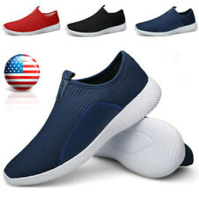 Men's Lightweight Slip on Shoes Casual Walking Tennis Athletic Sneakers Loafers