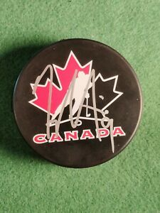 TYLER SEGUIN SIGNED TEAM CANADA HOCKEY PUCK JSA CERTIFIED AUTHENTIC