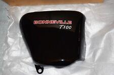 carénage cache droit Jet Black Triumph BONNEVILLE T100 réf.T2308531 neuf