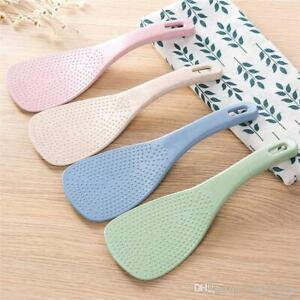 Rice Paddle Spoon Non-Scratch Plastic (2 Pieces)