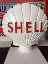 Shell Reproduction Vintage Petrol Pump Globe Classic Car Garage GRP