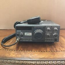 Kenwood TS-130S HF SSB Transceiver with Mic + Manual