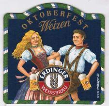 Germany Coaster Beer Erdinger Weissbrau Oktoberfest Weizen