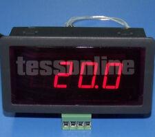 Temperatur Meßgerät Thermometer LED Digital Dispay für PT100 Sensoren Sensor NEU
