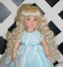 Doll Wig Monique #102 size 8/9 Pale Blonde - (Modeled diff size)