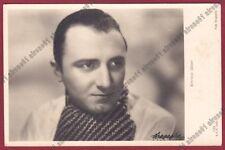 ENRICO GLORI 03 MUSY - ATTORE ACTOR ACTEUR CINEMA MOVIE - NAPOLI Cartolina 1942