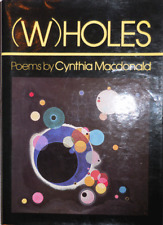 Cynthia Macdonald / WHOLES Poems Inscribed Signed 1st Edition 1980