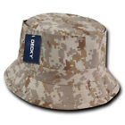 Decky Fisherman's Bucket Hats Caps Constructed Cotton 2 sizes Unisex