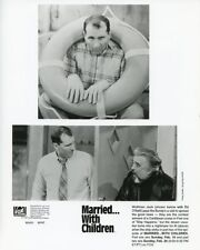 ED O'NEILL WOLFMAN JACK MARRIED WITH CHILDREN ORIGINAL 1995 FOX TV PHOTO