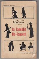 GANDOLIN-LA FAMIGLIA DE-TAPPETTI ED. POSTUMA 1946 GARZANTI-O109