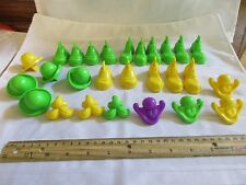 Vintage 1980 Fisher Price Crazy Clay Creations #703 Playdough Face Pieces part a