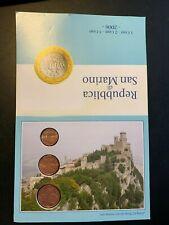Kursmünzen San Marino 2006: 1, 2 und 5 Cent, ansehen Schnäppchen !!!