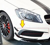 NEW GENUINE MERCEDES BENZ MB A CLASS AMG A45 W176 FRONT BUMPER SPOILER FLAP SET