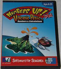 Los números de arriba! pánico volcánica números y cálculos PC Windows Juego Educativo