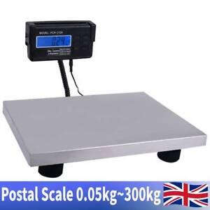 Commercial Platform Digital Postal Parcel Weighing Shipping Scales 300kg/0.1kg