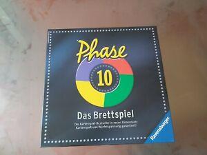 Phase 10 - Das Brettspiel von Ravensburger -  Gesellschaftsspiel