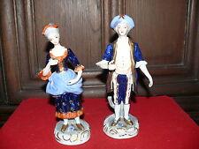 Dekoratives älteres Paar Porzellanfiguren Figuren aus Porzellan