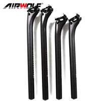 carbon bike seatpost 3K mtb road bicycle seat posts 27.2/30.8/31.6*350/400mm