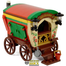 Romany Gypsy Caravan | Minifigure scale | All parts LEGO