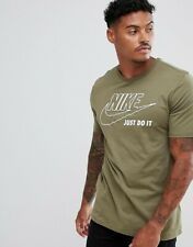 NIKE CLASSIC WOW MENS JUST DO IT ATHLETIC MUSCLE  FIT QUALITY T SHIRT NEW UK XXL