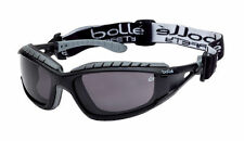 10  Bolle TRACKER II Safety Glasses Goggles Anti Mist Anti Scratch SMOKE TRACPSF