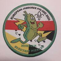 Eurojam 2020 Scout badge Euro jamboree Poland 2020 Norfolk badge